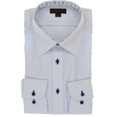 形態安定抗菌防臭スリムフィット レギュラーカラー長袖シャツ