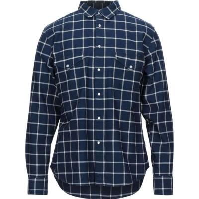 リーバイス LEVI'S MADE & CRAFTED メンズ シャツ トップス checked shirt Dark blue