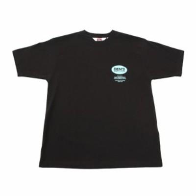 ベンデイビス(BEN DAVIS)オーバルロゴ 半袖Tシャツ 0580025-BLK(Men's)