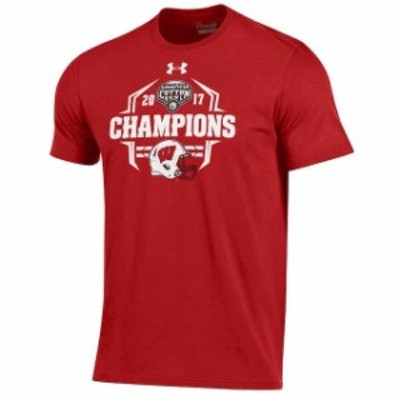 Under Armour アンダー アーマー スポーツ用品  Under Armour Wisconsin Badgers Red 2017 Cotton Bowl Champions Charged