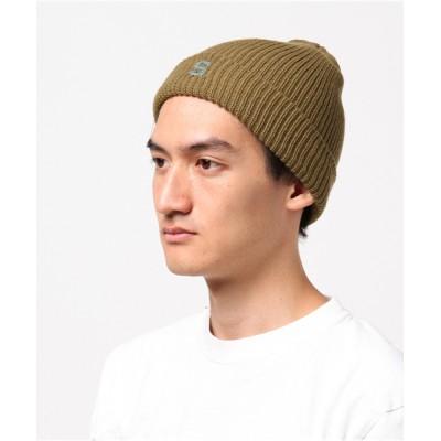帽子 キャップ 【THE STRAIT(ストレイト)】S LOGO WATCH CAP