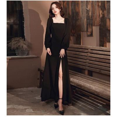 ロングドレス ウェディングドレス イブニングドレス 演奏会 大きいサイズ ドレス ロング 結婚式 お呼ばれ 大きい ピアノ ステージドレス 成人式