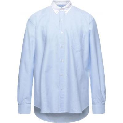 ゴールデン グース GOLDEN GOOSE DELUXE BRAND メンズ シャツ トップス Patterned Shirt Sky blue