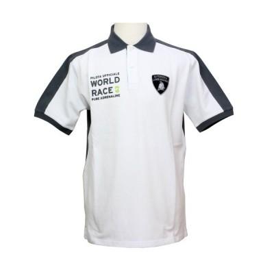 ランボルギーニ メンズ World Race 63 ポロ ホワイト / グレー 9010120CCE091