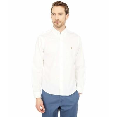 ラルフローレン シャツ トップス メンズ Classic Fit Chambray Shirt White