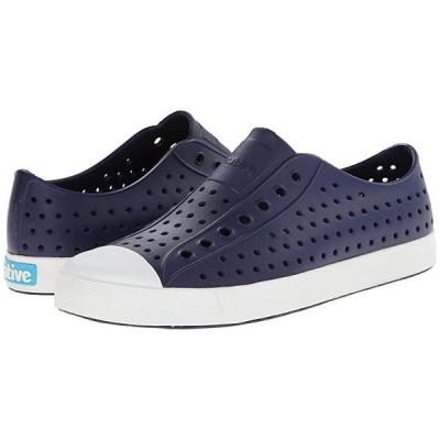 ネイティブ Jefferson メンズ スニーカー 靴 シューズ Regatta Blue/Shell White