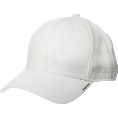 アディダス adidas メンズ キャップ 帽子 Gameday III Stretch Fit White