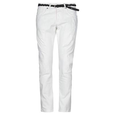 DISPLAJ パンツ ホワイト 44 コットン 98% / ポリウレタン 2% パンツ