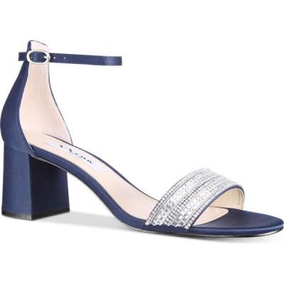 ニナ Nina レディース サンダル・ミュール シューズ・靴 Elenora Embellished Sandal Navy