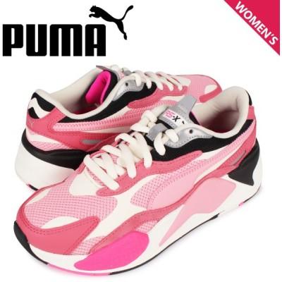 プーマ PUMA パズル スニーカー レディース RS-X3 PUZZLE ピンク 371570 06