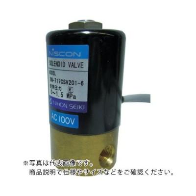 日本精器 2方向電磁弁6AAC200V717CS (BN-717CSV201-6-E200) 日本精器(株)