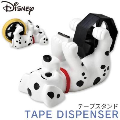 101匹わんちゃん グッズ ディズニー セロテープ台 セロテープカッター テープ台 セロテープ テープカッター 卓上 机 オフィス デスク 学習机 子供部屋 おしゃれ