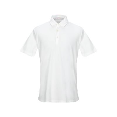アルテア ALTEA ポロシャツ ホワイト S コットン 100% ポロシャツ
