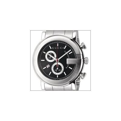 GUCCI グッチ 腕時計 YA101309 メンズ Gラウンド クロノグラフ クオーツ