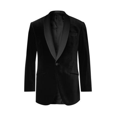 リチャード・ジェームス RICHARD JAMES テーラードジャケット ブラック 36 コットン 100% テーラードジャケット