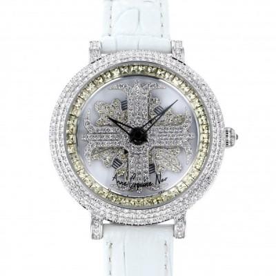アンコキーヌ ネオ Anne Coquine Neo レディアルバ イエロー L1-3A ホワイト文字盤 新品 腕時計 レディース