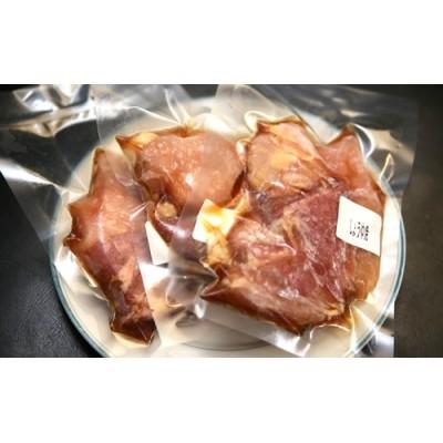 秋田県産比内地鶏450g(しょうゆ味・150g×3パック)(鶏肉 もも ムネ 小分け)