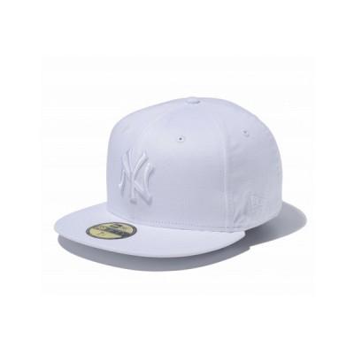 ニューエラ(NEW ERA) 59FIFTY MLB ニューヨーク・ヤンキース ホワイト × ホワイト 11308530 (メンズ)