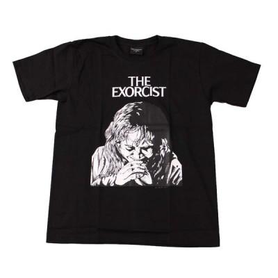 Tシャツ バンドTシャツ ロックTシャツ 半袖 (BW) エクソシスト THE EXORCIST 1 BLK S/S 黒 映画