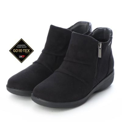 【GORE-TEX】マドラスウォーク madras Walk ゆったりとした履き心地で疲れない  快適ブーツ MWL2112 (ブラック)