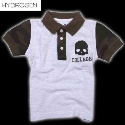ハイドロゲン(HYDROGEN) キッズ 半袖 シャツ 146014 015  DB14S