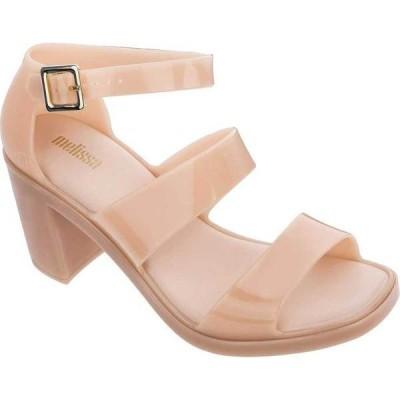 メリッサ レディース サンダル シューズ Model Block Heel Strappy Sandal