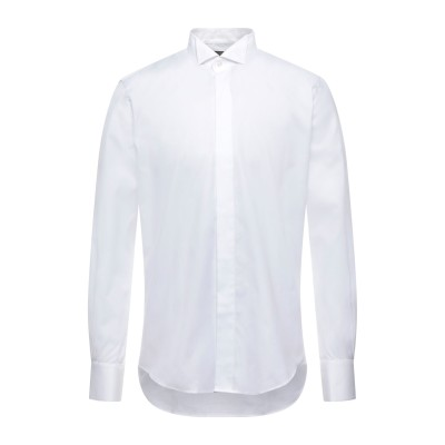 トラサルディ ジーンズ TRUSSARDI シャツ ホワイト 41 コットン 100% シャツ