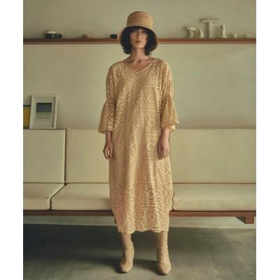 ワンピース Marie Miller EMBROIDERY LACE DRESS (マリーミラー エンブロイダリーレースドレス)(2colors)(W