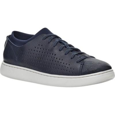 アグ スニーカー シューズ メンズ Pismo Perforated Low Sneaker (Men's) Dark Sapphire Hyperweave/Leather