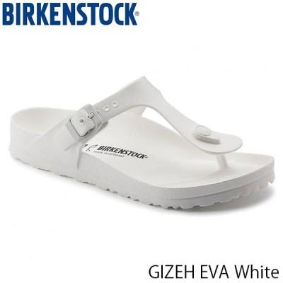 ビルケンシュトック サンダル レディース メンズ ギゼ GIZEH EVA エヴァ エバ サンダル 幅広 レギュラー ホワイト BIRKENSTOCK GE128221 国内正規品