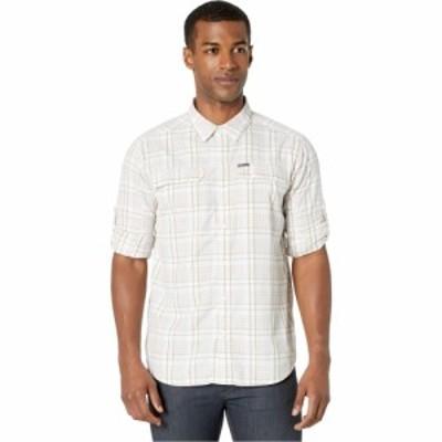 コロンビア Columbia メンズ シャツ トップス Silver Ridge 2.0 Plaid Long Sleeve Shirt White Grid Plaid