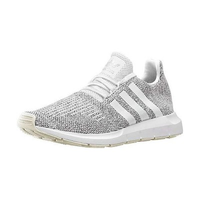adidas Originals Men's Swift Running Shoe, Cloud White/Cloud White/Core Black, 11 M US