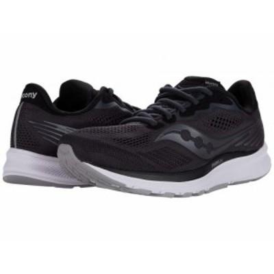 Saucony サッカニー レディース 女性用 シューズ 靴 スニーカー 運動靴 Ride 14 Charcoal/Black【送料無料】