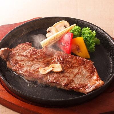肉の堀川亭 R  北海道産四季彩牛サーロインステーキ SKM-60