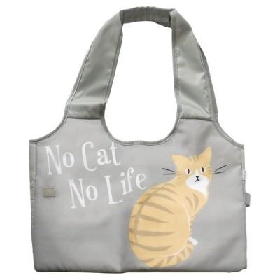保冷保温レジかごバッグ チャトラ(グレー) 猫 ネコ キャット