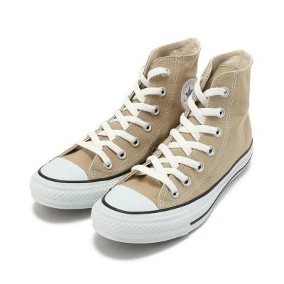 【アンカットバウンド】 Converse (コンバース)CANVAS ALL STAR COLORS Hi キャンバスオールスター ハイ レディース BEIGE 4.5 UNCUT BOUND