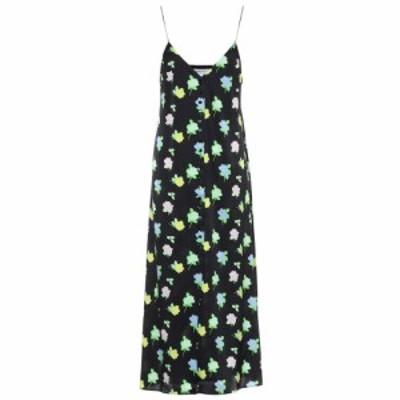 ベルナデッタ Bernadette レディース ワンピース ワンピース・ドレス Hailey floral silk-satin satin dress Rose Multi/Black