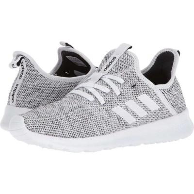 アディダス adidas Running レディース スニーカー シューズ・靴 Cloudfoam Pure White/White/Black