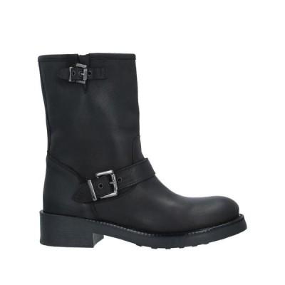 UNLACE ショートブーツ ファッション  レディースファッション  レディースシューズ  ブーツ  その他ブーツ ブラック
