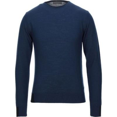 マニュエル リッツ MANUEL RITZ メンズ ニット・セーター トップス sweater Dark blue