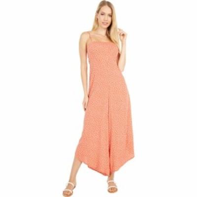 オニール ONeill レディース オールインワン ジャンプスーツ ワンピース・ドレス Jaladra Dot Jumpsuit Mecca Orange