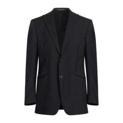 LUBIAM テーラードジャケット ブラック 54 ポリエステル 55% / バージンウール 43% / ポリウレタン 2% テーラードジャケット
