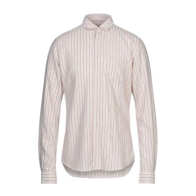 グランシャツ GLANSHIRT シャツ アイボリー 38 コットン 88% / ウール 12% シャツ