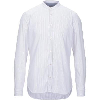 マニュエル リッツ MANUEL RITZ シャツ オレンジ 38 ポリエステル 65% / コットン 35% シャツ