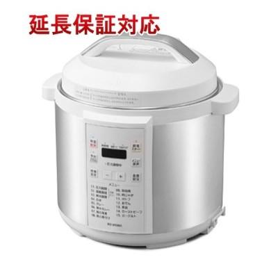 アイリスオーヤマ 電気圧力鍋 6.0L PC-EMA6-W ホワイト