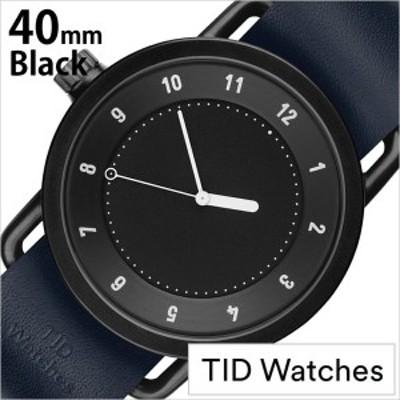 ティッドウォッチ腕時計 TIDWatches時計 TID Watches 腕時計 ティッド ウォッチ 時計 メンズ/ブラック SET-TID01-BK40-NV