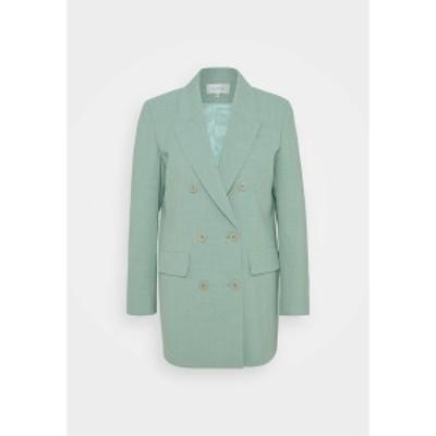 ゲタス レディース ジャケット&ブルゾン アウター AMALI BLAZER - Short coat - slate gray slate gray