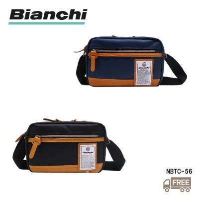 【Bianchi】 ビアンキ ミニショルダーバッグ NBTC56 ボディバッグ メンズ 自転車 カジュアル シンプル 男女兼用 イタリア 送料無料