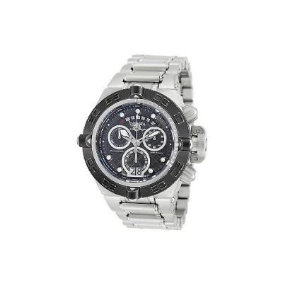 海外セレクション 腕時計 Invicta 17610 メンズ サブアクア クロノグラフ ステンレス スチール ブラック ダイヤル