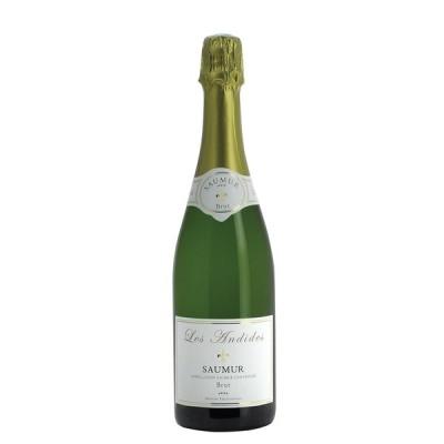【送料無料】Les Andides Saumur Brut レ ザンディード ソミュール ブリュット 750ml フルボトル スパークリングワイン 発泡
